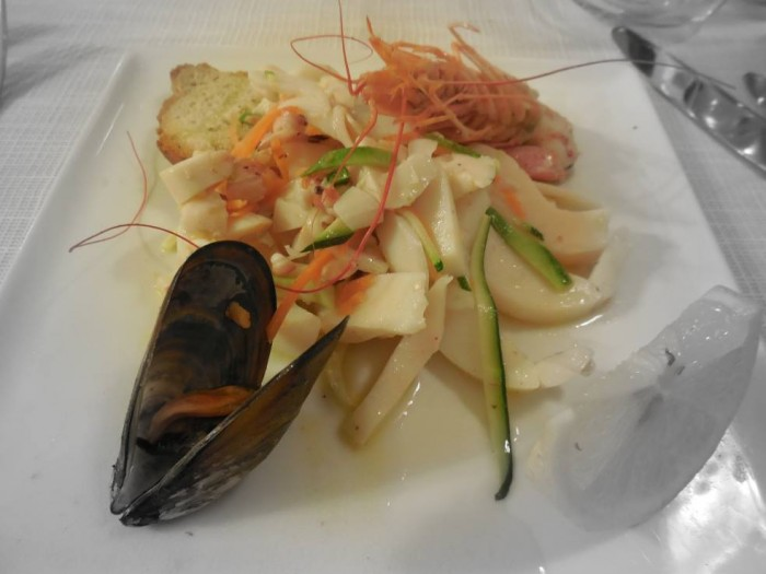 Celide, una portata di pesce