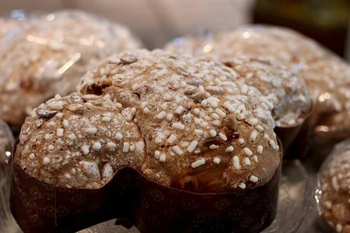 Colomba al pistacchio di Bronte della Pasticceria Giulia di Sant'Anastasia