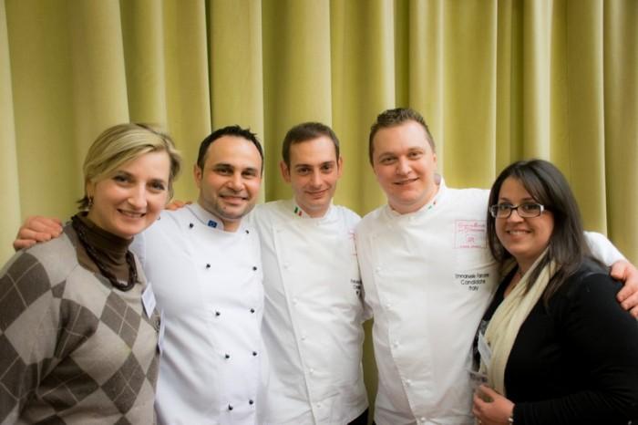 Con Emanuele Forcone, Fabrizio Donatone e Francesco Boccia