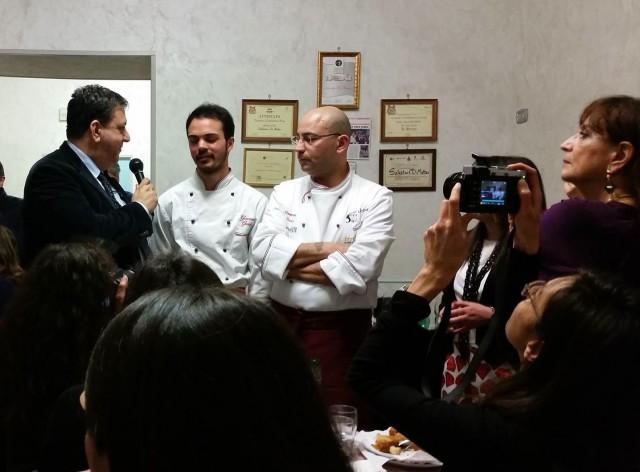 Con Giacomo Fusco e Salvatore Di Matteo(Foto Marco Bottigliero)