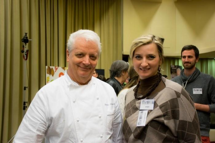 Con il Maestro Iginio Massari