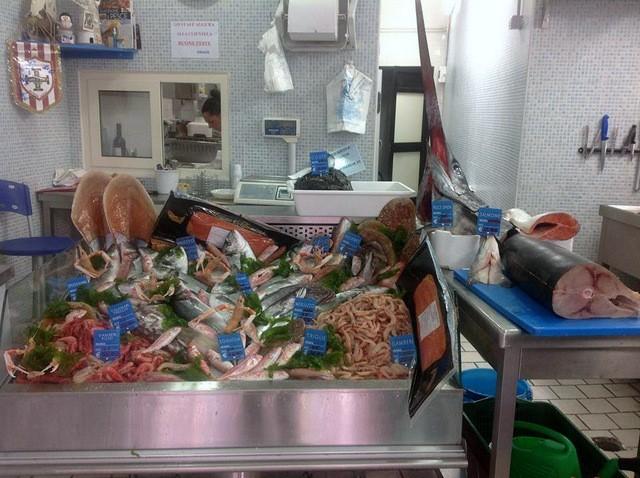 Digimar  Pesce  e  cucina il banco