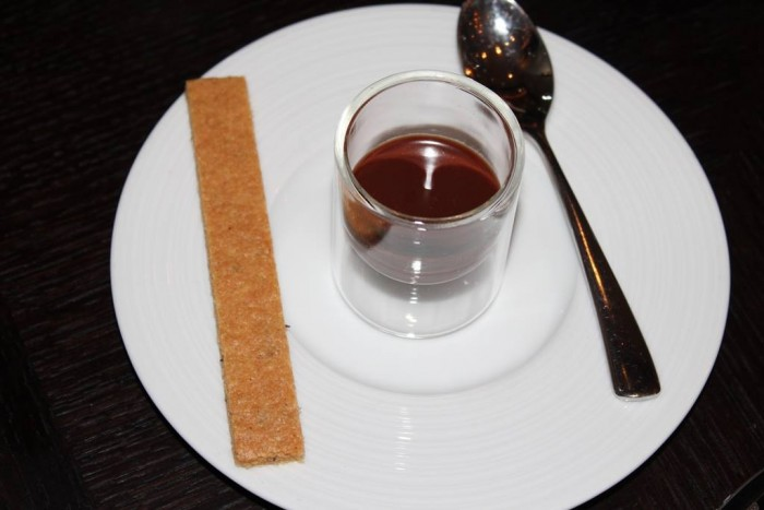 Dinner, Chocolate