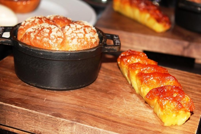 Dinner, Tipsy Cake (c.1810) Spit roast pineapple