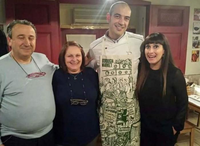 Elena Fucci con Luciano Matera