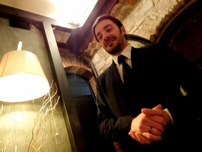 Boda de Ciondro, il responsabile di sala Fabrizio Derudas