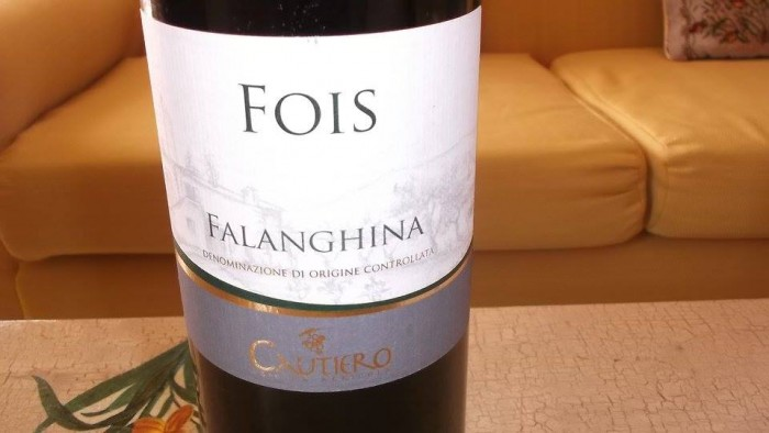 Fois Falanghina del Sannio Doc 2013 Cautiero