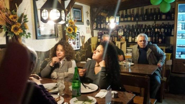 Grotto Pizzeria Castello, la sala al piano terra