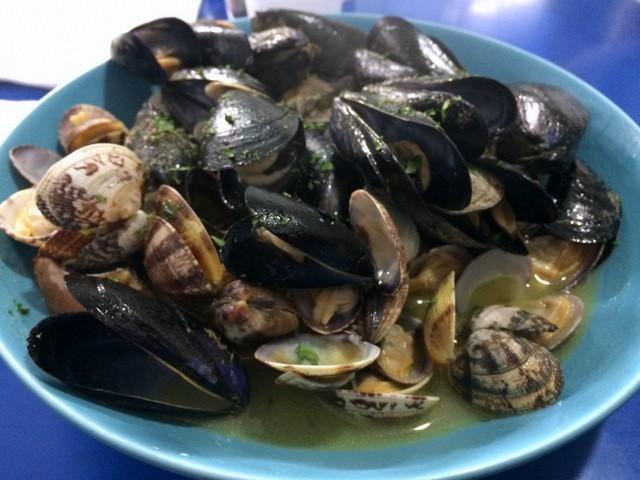 Digimar  Pesce  e  cucina il saute di frutti di mare