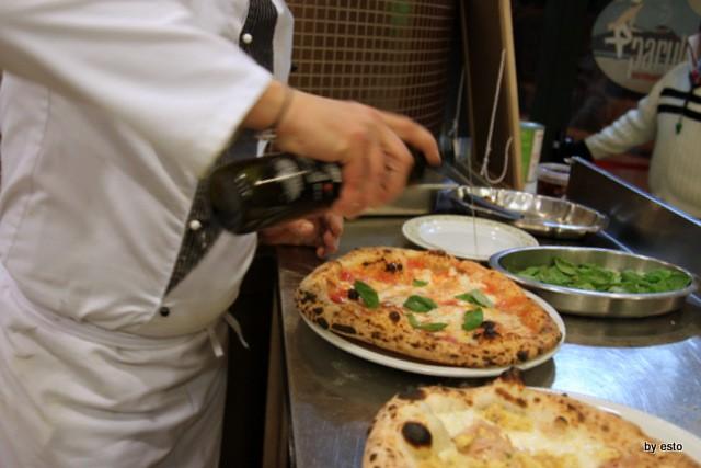 Le Parule Giuseppe Pignalosa Pizza Margherita