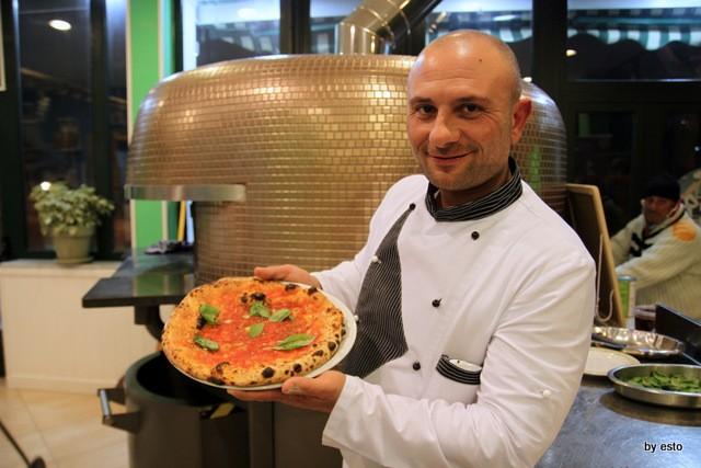 Le Parule Giuseppe Pignalosa Pizza Marinara