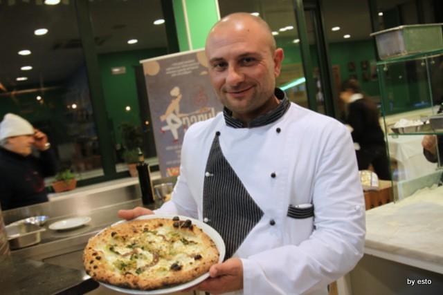 Le Parule Giuseppe Pignalosa Pizza scarulella