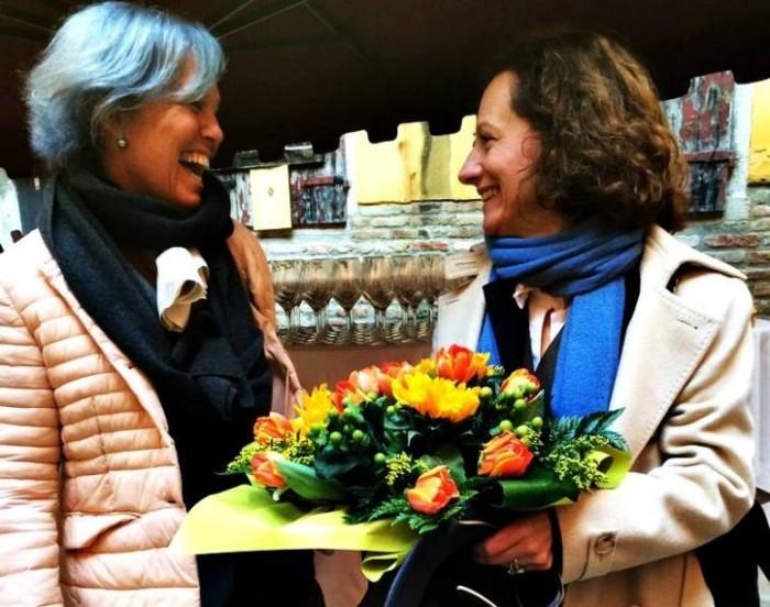 Le vigne di Alice: Pier Francesca Bonicelli e Cinzia Canzian