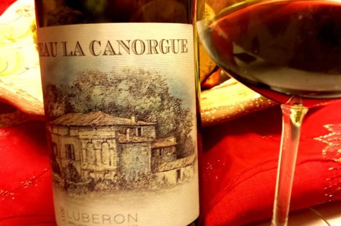 Luberon Rouge Château La Canorgue