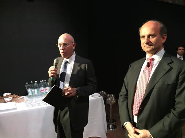 Michael Mondavi e Lamberto Frescobaldi