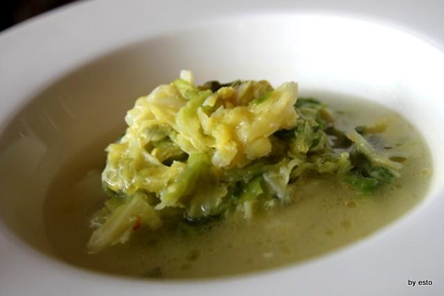 Oasis Vallesaccarda minestra di verza e patate