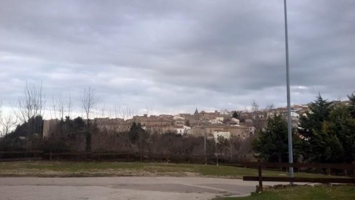 Peppe Zullo, Orsara vista dal ristorante