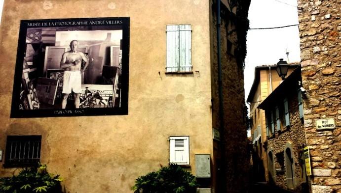 Picasso a Mougins