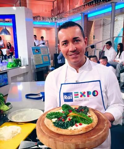 Pizza al farro di Gino Sorbillo alla prova del Cuoco