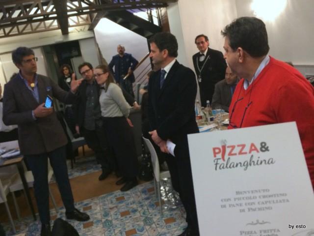 Pizza e Falanghina del Sannio a Palazzo Vialdo