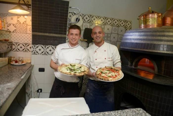 Pizzeria Mangiafoglia, Antonio Lagnone e Paolo Lettieri