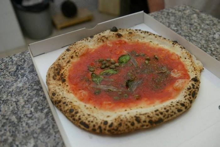 Pizzeria Mangiafoglia, la Marinara