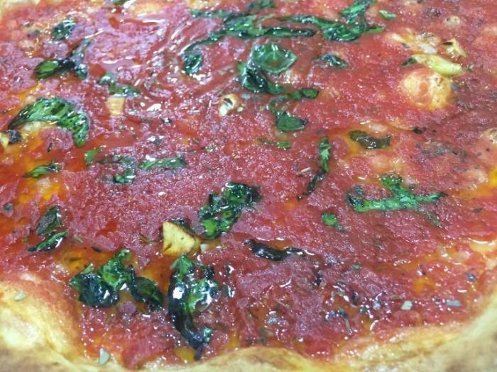 Pizzeria Oliva, la marinara