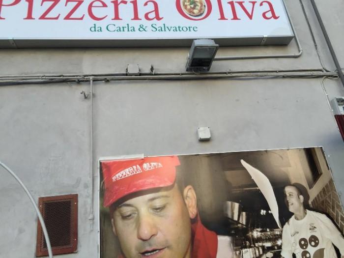 Pizzeria Oliva, l'esterno