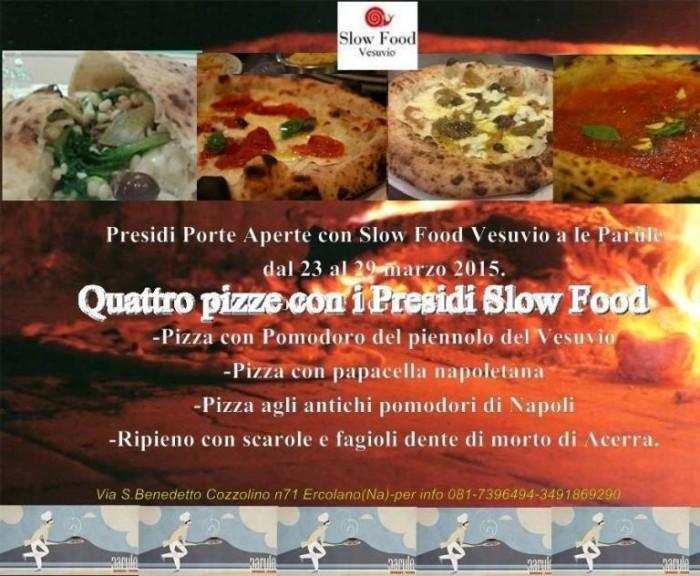 Presìdi Porte Aperte con Slow Food Vesuvio a Le Parule