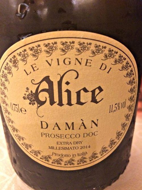 Prosecco DOC Damàn Le Vigne di Alice