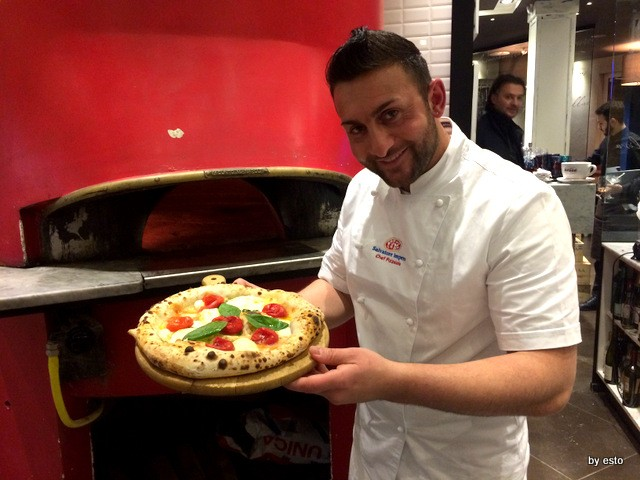 Salvatore Impero, Pizza Spaccanapoli