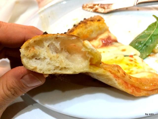 Salvatore Impero, la struttura della pizza