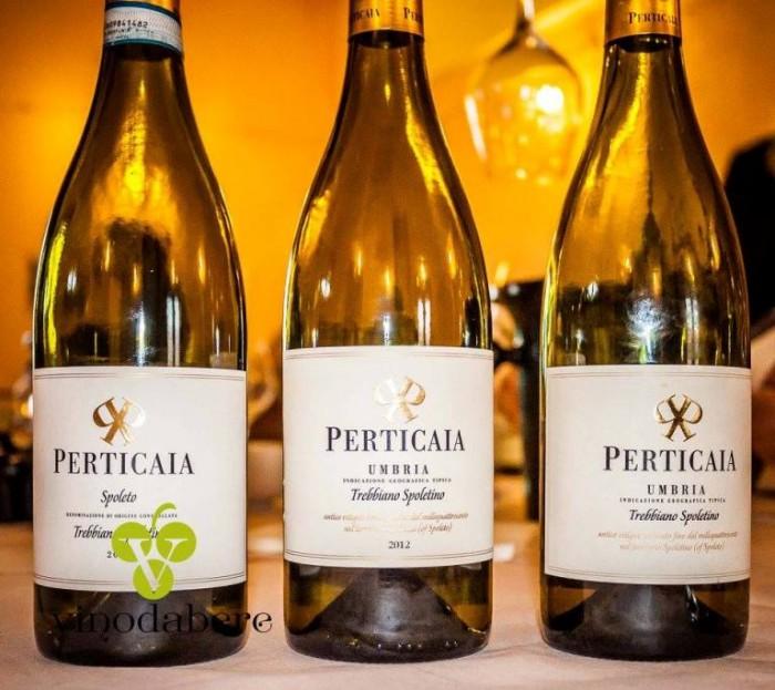Trebbiano spoletino  Perticaia 2014 - 2012 - 2007