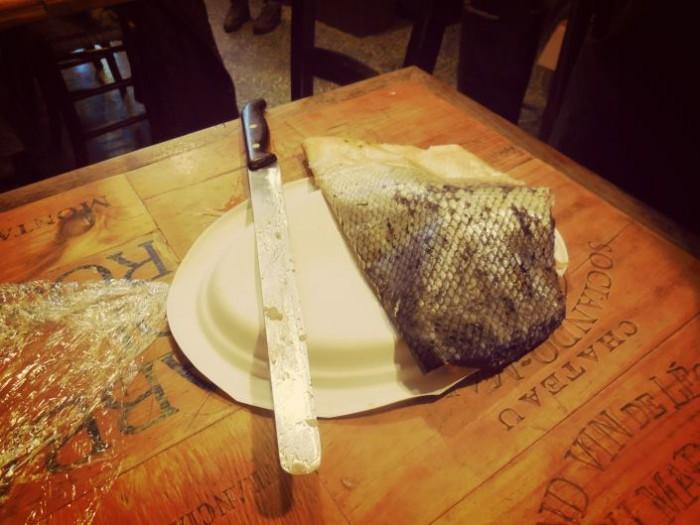 Vecchio Mulino, salmone