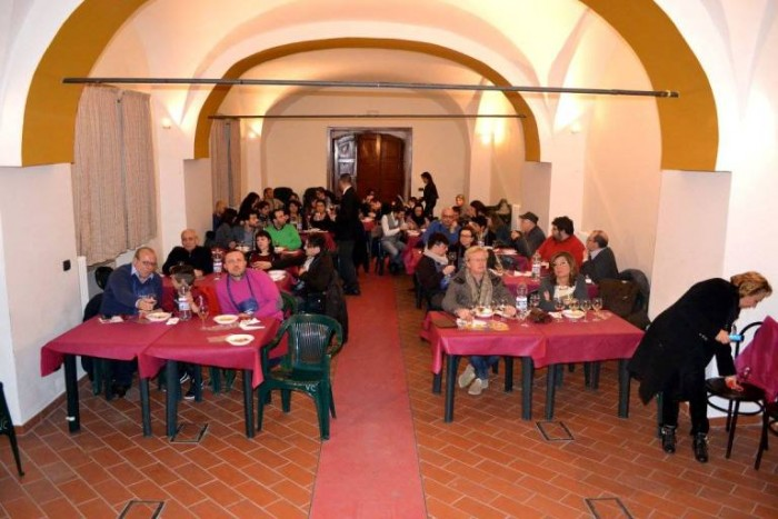Vitigno & Terroir, la sala degustazione