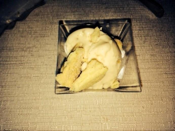 gelato alla pastiera napoletana