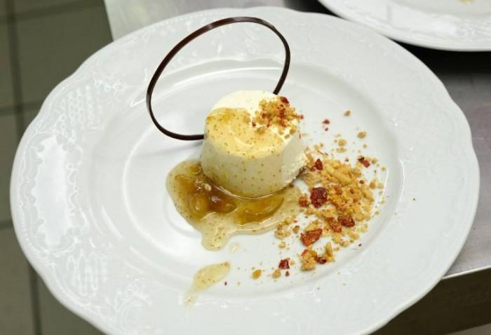 il dolce di Domenico Manfredi della Pasticceria D'Elia di Teggiano