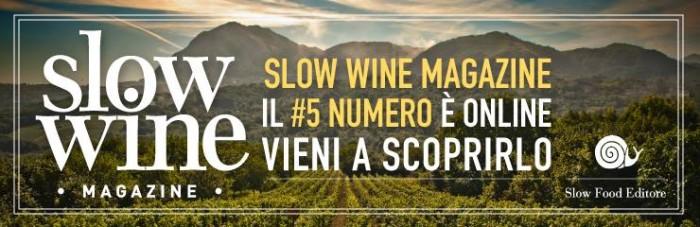 il quinto numero di Slow Wine Magazine