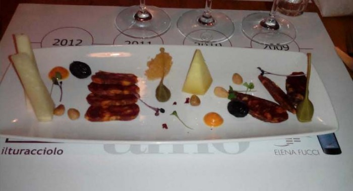 insaccati e formaggi lucani