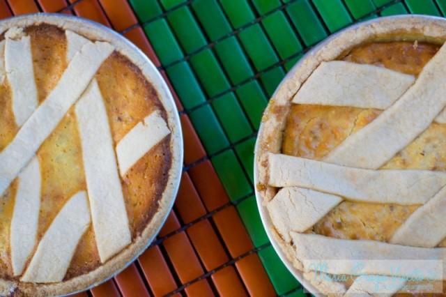 pastiera con la crema vs pastiera senza crema
