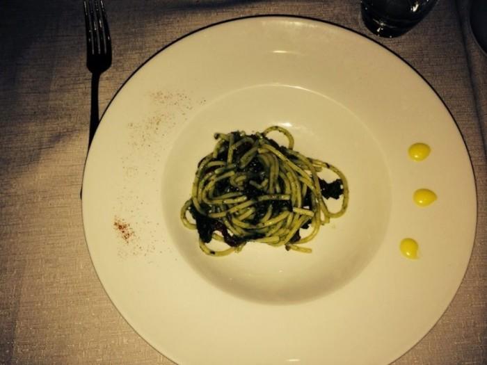 spaghettoni broccoli friarielli e sarachiello