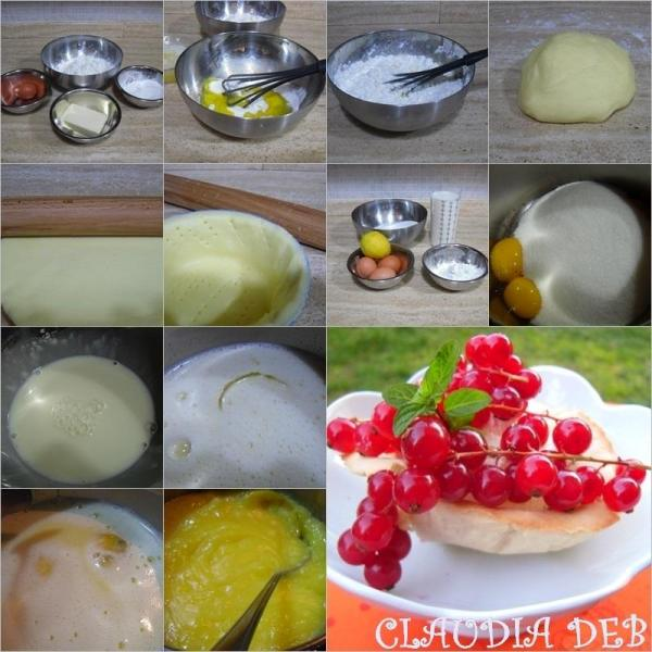 tutorial ricetta gluten free, cestini di frolla con crema pasticciera e frutta fresca
