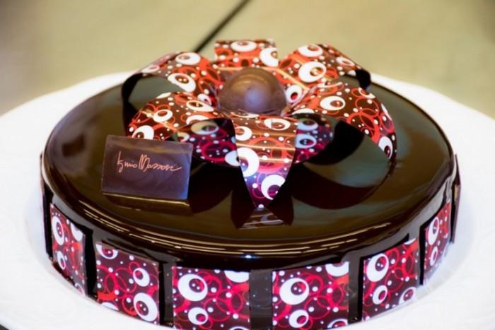 una delle torte preparate da Iginio Massari al corso