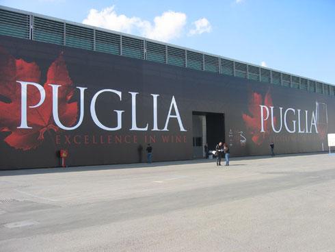 la Puglia al Vinitaly