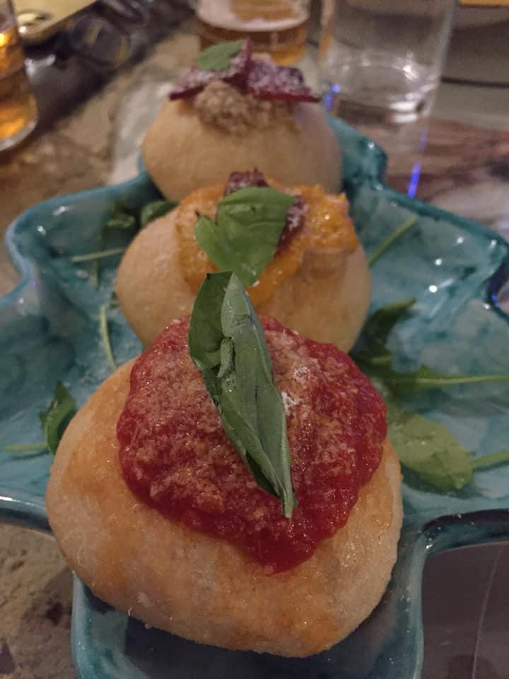 Mangiafoglia a Pontecagnano, le montanarine