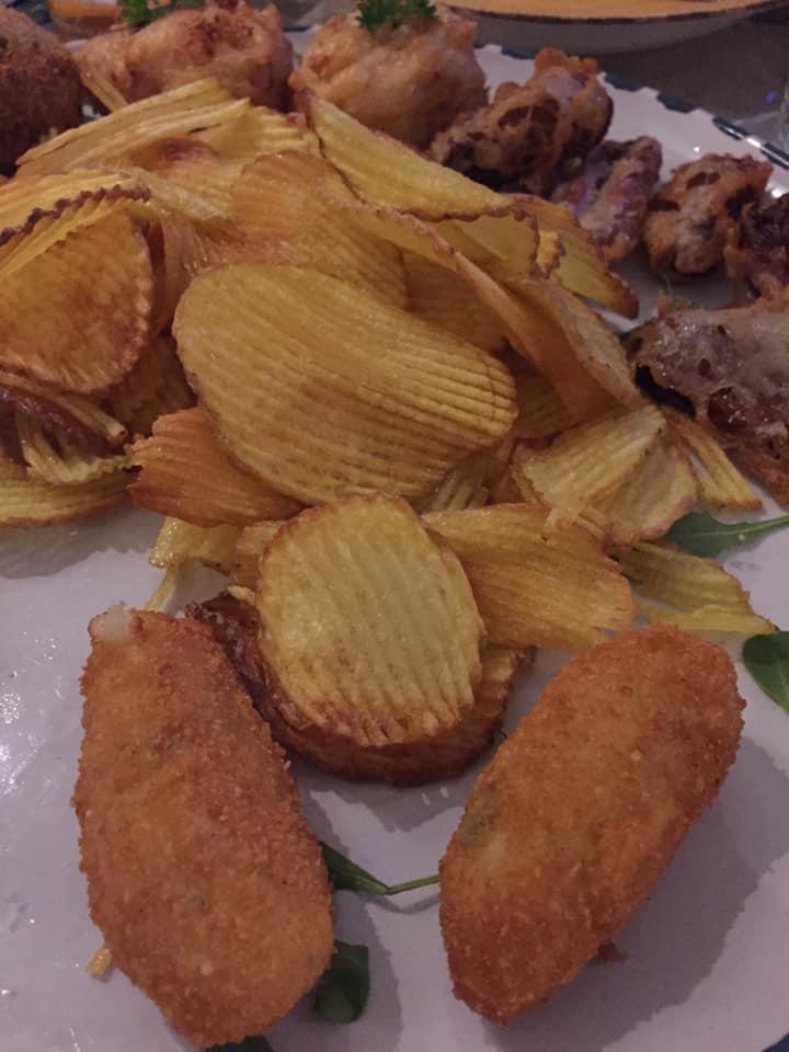 Mangiafoglia a Pontecagnano, i fritti