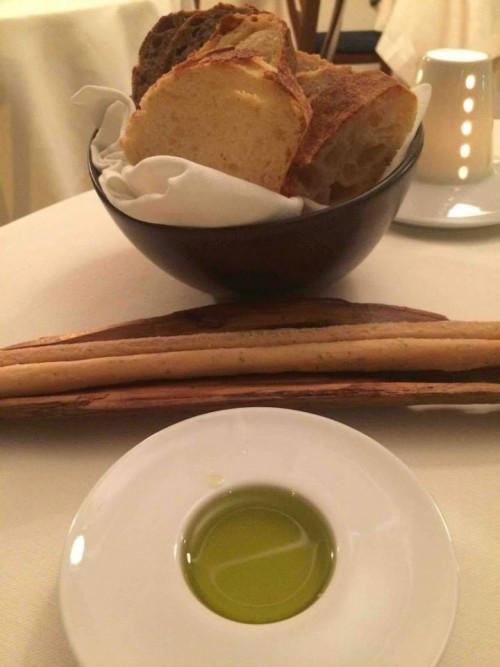 Acquolina, pane e olio
