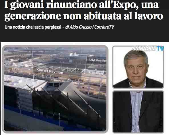 Aldo Grasso, Expo e Manpower