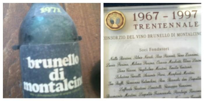 Baricci, la prima annata e il trentennale del Consorzio del Vino Brunello di Montalcino