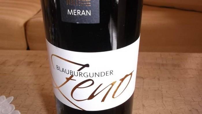 Blauburgunder Pinot Nero Riserva Zeno SudTirol-Alto Adige Doc 2012